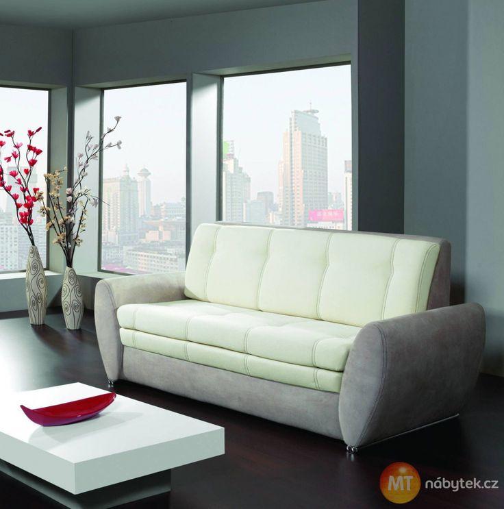 Luxusní rozkládací pohovka na každodenní spaní Klaudie #settee #sofa #divan #couch