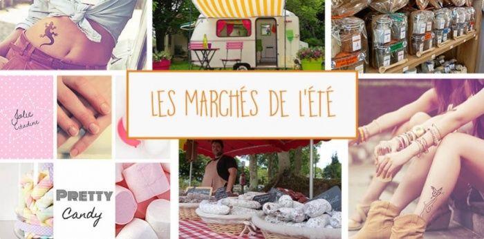 Les marchés de l'été au camping Domaine de Bréhadour