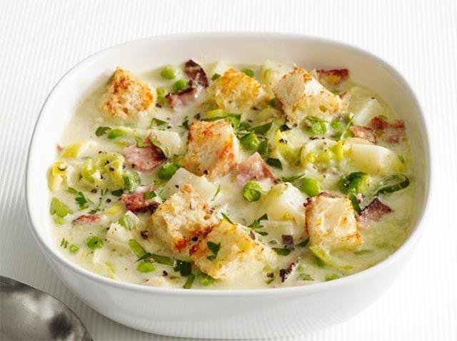 Nous reprenons ici un plat classique et des plus simple,Poireaux et pommes de terre à la crème avec Cookéo, la préparation ne prend pas plus de 20 minutes.