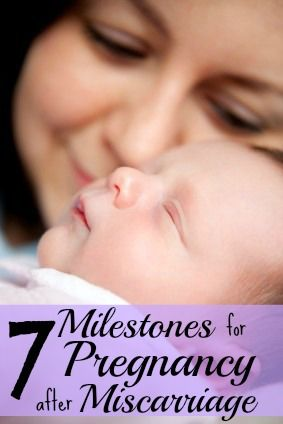 7 Milestones for Pregnancy After Miscarriage