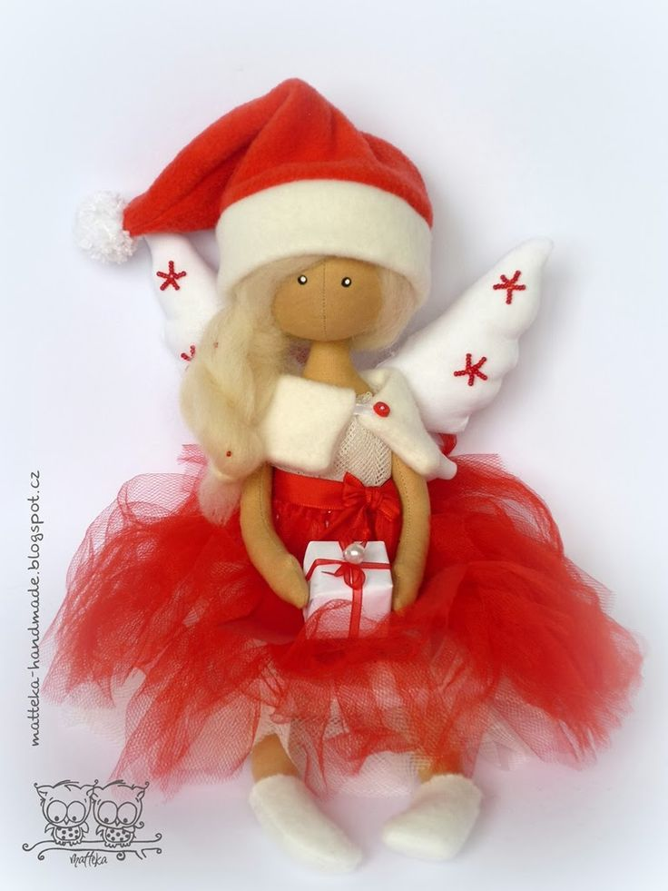 hand made by matteka: christmas angel