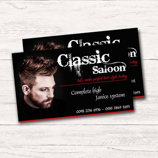 Salon Business Card Business Card Visiting Card Salon Business Cards Business Card Design Visiting Cards