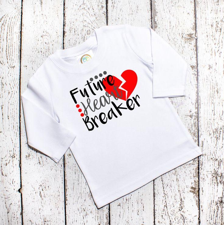 toddler boys valentine shirt valentine shirt boy future heart breaker boys valentines day - Boys Valentines Shirt