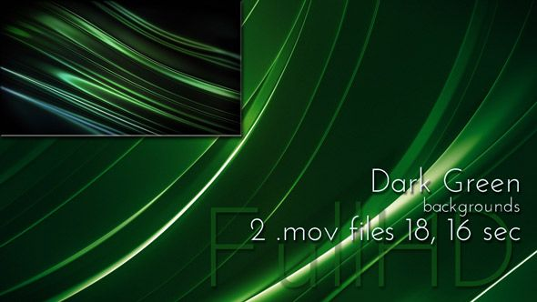 Dark Green Motion 3d Loop Animation Background for video presentations, events....more)