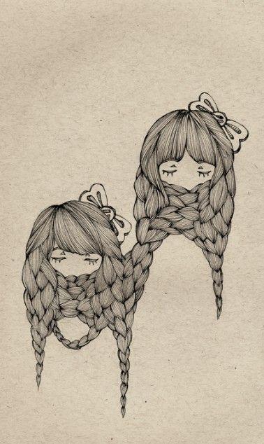 Braids #illustration #art