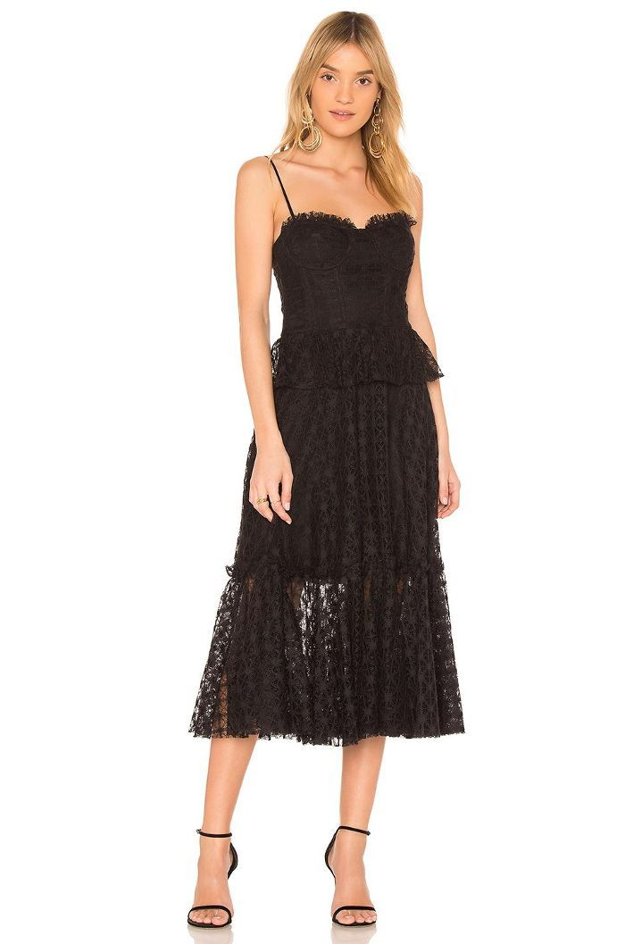 Here Are 10 Black Dresses That Are Completely Wedding Appropriate