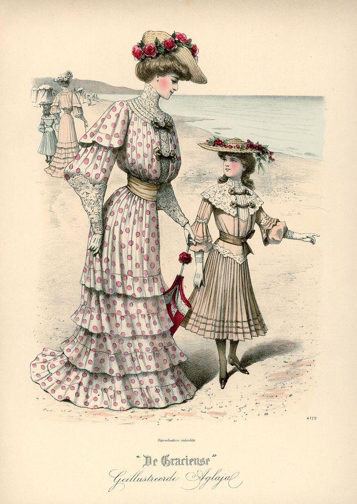 Fashion Plate - De Gracieuse, 1903