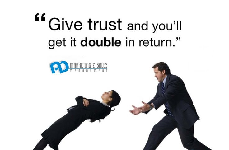 Trust your customers to trust you back!
