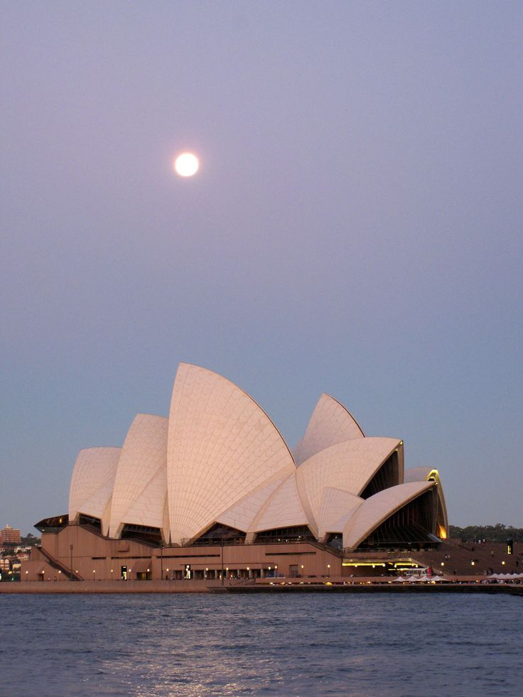 Iconic view about Sydney's opera house