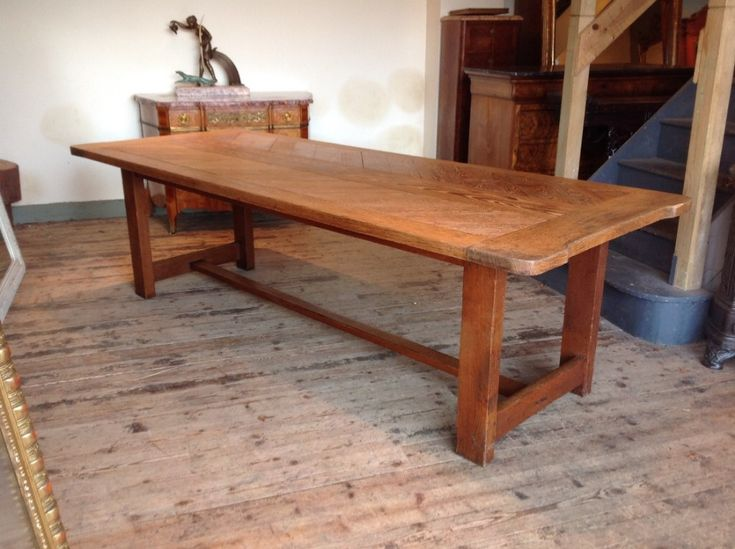 French farmhouse dinning table