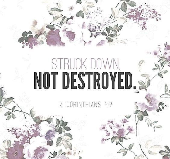 2 Corinthians 4:9