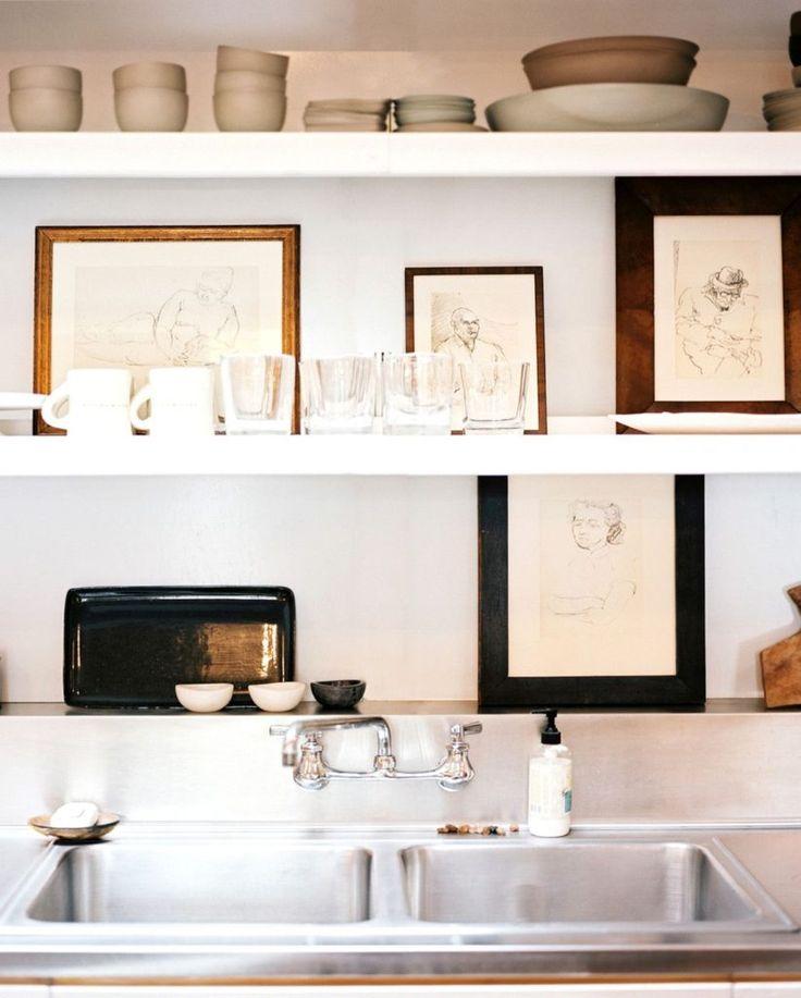 1000+ Ideas About Open Shelf Kitchen On Pinterest