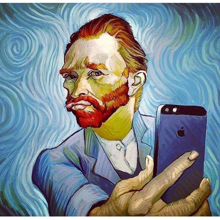 #vincent #van #gogh #vangogh #wallpaper #populer #culture #iphone #selfie #modernart #modern #art #paint #oilpainting #android #starrynight #starry #night