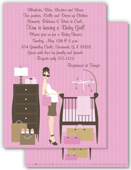Tickled Pink Baby Shower Invitation We Need A Boy Version For
