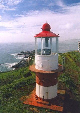 Faro de Quiriquina lighthouse ,Bahia de Concepcion Chile