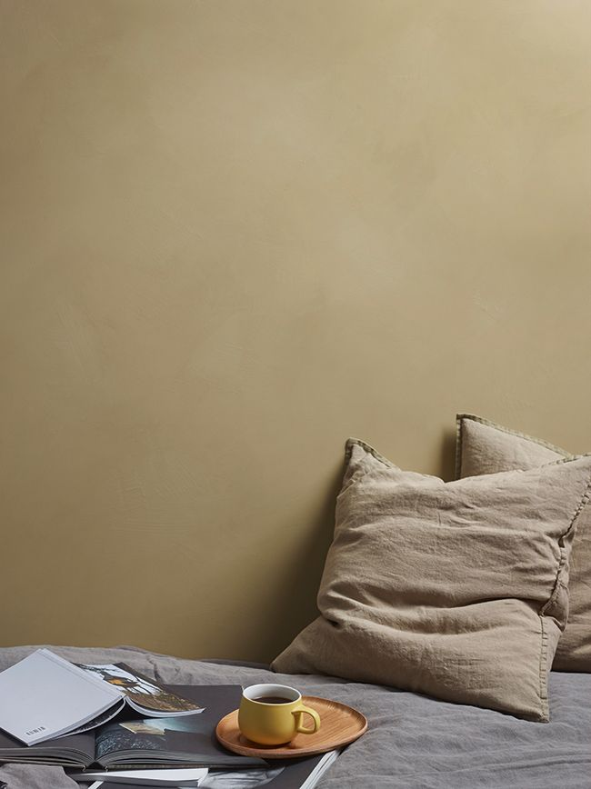 Färgen LADY 10683 Cashmere är en färg med stor personlighet…. speciellt när den målas i kalkfärgen  LADY Minerals.