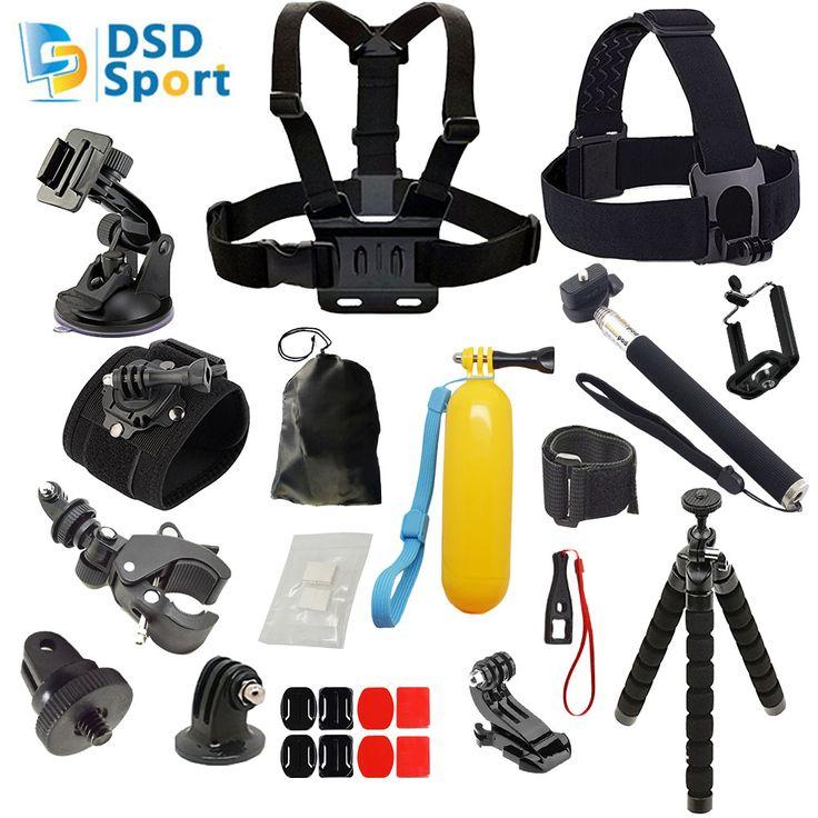 USD 18.60/setUSD 39.00-44.00/pieceUSD 26.39/pieceUSD 25.69/pieceUSD 35.69/pieceUSD 45.99-50.99/pieceUSD 25.49/pieceUSD 29.69/piece SAQN for gopro hero accessories bike mount chest belt 360 degree hand strap for go pro 5 4 3+ 3 sjcam sj5000 sj4000 xiaomiyi 2k Description SAQN for all gopro accessories in this kit are fit for GOPRO 5/4/3+/3/2/1 and all SJCAM cameras(sj4000,sj5000,sj5000x) and also for ...