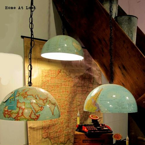 true globe lamps!