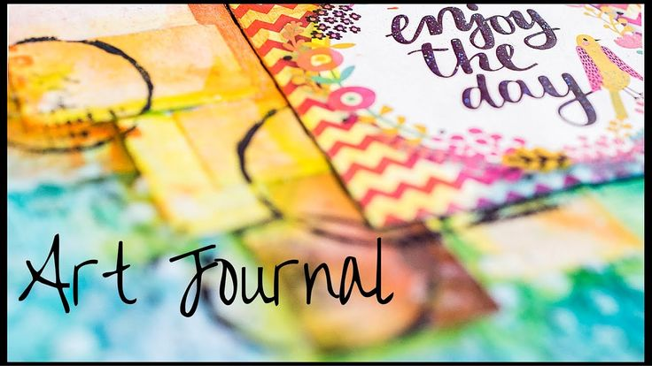 Art Journal Page: June - Faber-Castell Big Brush Pen
