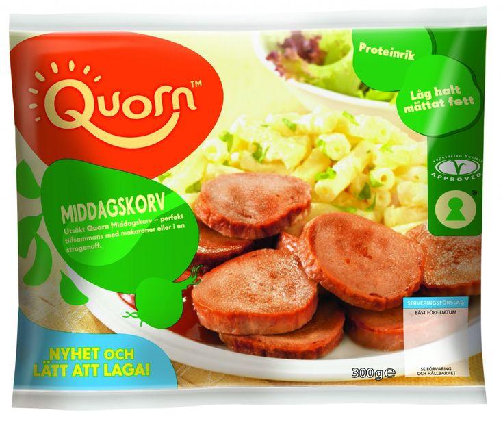 Quorns nya falukorv | Jävligt gott - vegetarisk mat och vegetariska recept för alla, lagad enkelt och jävligt gott.