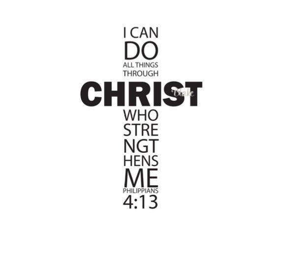 I Can Do All Things Svg Christ Cross Svg Bible Verse Cross Bible