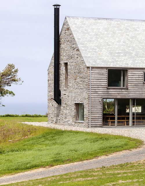 Mortehoe House on the Devon coastline in south-west England by McLean…