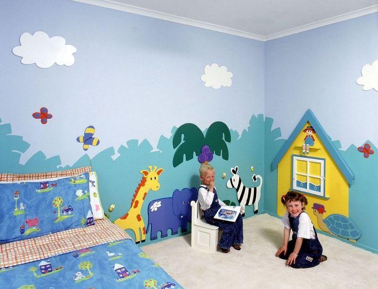 12 Wonderful Wall Murals Kids Picture Ideas