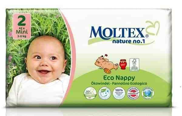Mini Moltex Nappies   Eco Nappies Australia   Hello Charlie $28.95 https://www.hellocharlie.com.au/moltex-eco-nappies-mini-3-6kgs-pack-new/