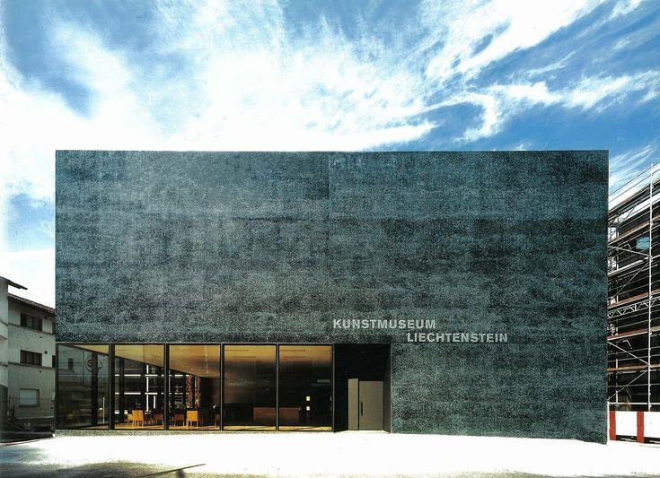 Kunstmuseum,Lichtenstein,Vaduz, 2000, Meinrad Morger,Heinrich Degelo and Christian Kerez