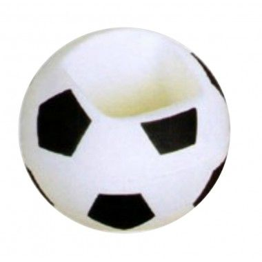This squishable #soccer ball stress toy also functions as a mobile phone holder. The perfect accessory for any office desk!