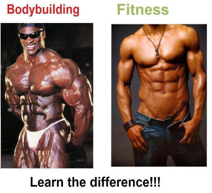 Learn The Difference Bodybuilding Vs Fitness