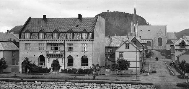 Namsos Sparebank - ca 1920 by Espen Sandmo, via Flickr