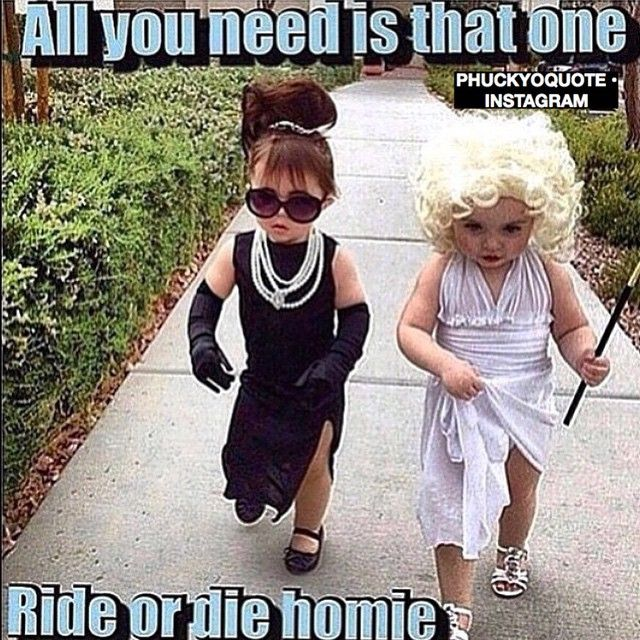 @kmano I do believe we were these two for halloween! LOL