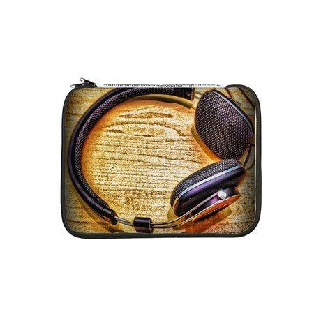 """Headphones 13"""" Laptop Sleeve by AngelEowyn. $22.99"""