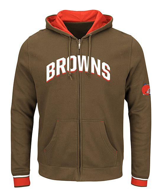 Cleveland Browns Zip-Up Hoodie - Men's Big & Tall