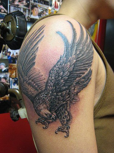 The 25 best crow tattoo meaning ideas on pinterest crow for Black eagle tattoo shop
