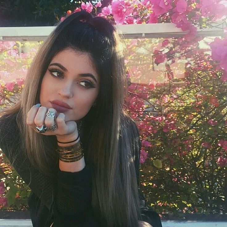 Kylie jenner hair and makeup