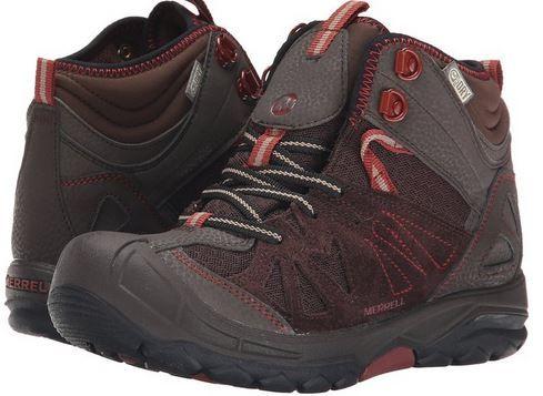 Merrell Capra Mid Waterproof Hiking Boots for Kids