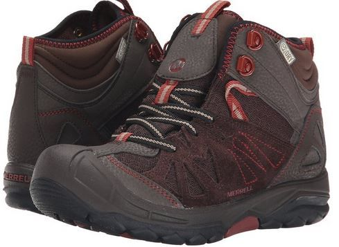 Merrell Capra Mid Waterproof Hiking Boots for Kids