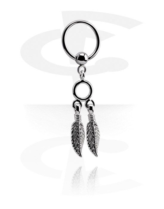 Ball Closure Ring with Charm (Surgical Steel 316L) | Crazy Factory online piercing shop