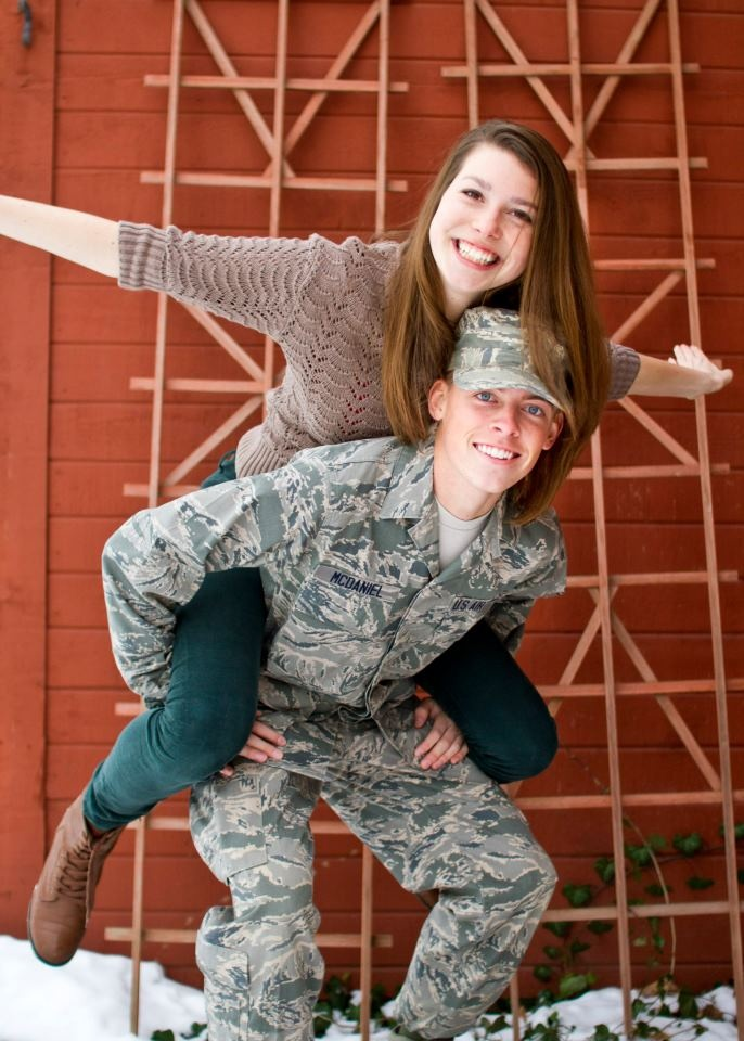 Happy AIR FORCE Couple _____________________________ Reposted by Dr. Veronica Lee, DNP (Depew/Buffalo, NY, US)