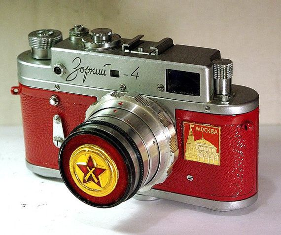 1963 Made in USSR ZORKI-4 camera rare Russian LEICA  -from RussianVintage via Etsy