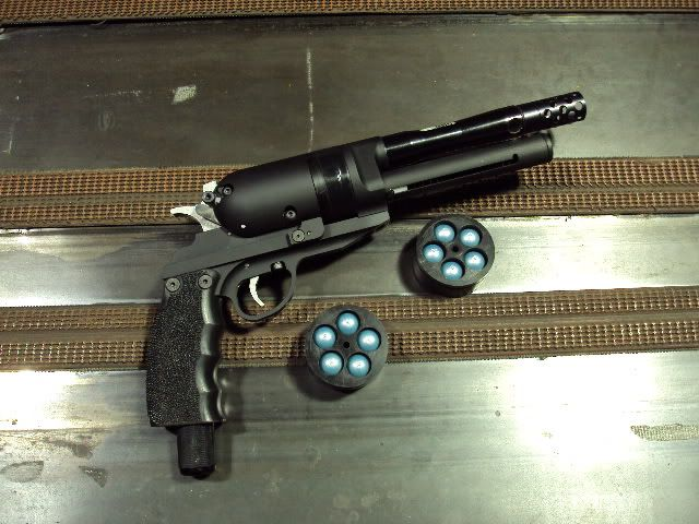 DRV Paintball Revolver... I wish an actual company would design one of these.