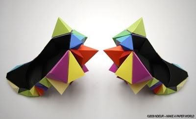 I really want to know where to buy these: Paper Construction, Color Origami, Paper Shoes, Creative Sweatshop, Coolest Shoes, Make Paper, Interesting Shoes, Origami Shoes, Le Creative