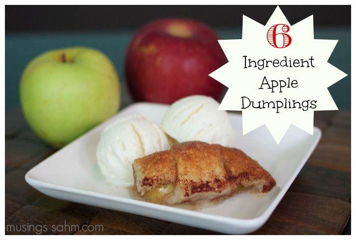6 Ingredient Apple Dumplings
