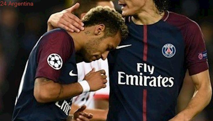La forzada tregua entre Neymar y Edinson Cavani