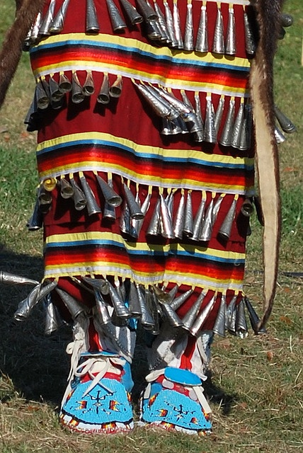 Jingle Dress dancer by Tara R., via Flickr