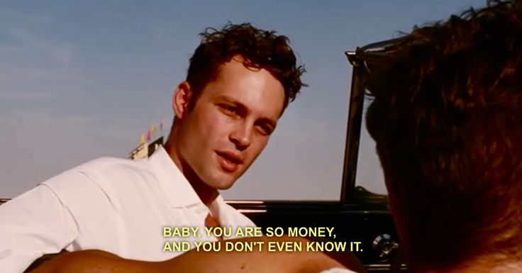 swingers // young vince vaughn could totally get it.