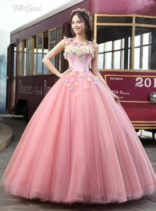0b3c64217 vestido de 15 años rosa (3)