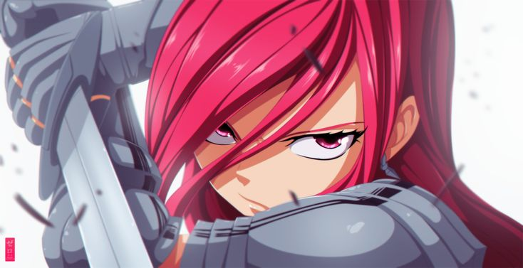 Erza Scarlet Angry | This heart only beats for one girl and that is Erza..... Erza Scarlet ...